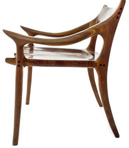 Build A Sculptured Low Back Chair With Charles Brock